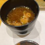 すし 弥助 - 味噌汁