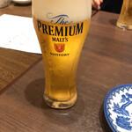 和たなべや - カンパーイはもちろん生ビール\(//∇//)\