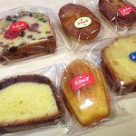 ア・ポワン - 焼き菓子各種。2012.06.29