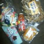 コミ花フェ 花楽里 - 自分の好物を買いました