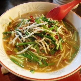 椿や - 料理写真:台湾ラーメン¥900