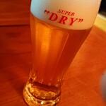 さくらん - 生ビール¥500