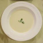 13655186 - 冷たいじゃがいものスープ