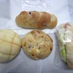 ベーカーズマーケット - 当日はパンを4種類購入してみました。