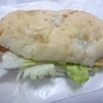 ベーカーズマーケット - BLBサンド280円、ベーコン、レタス、と枝豆(ビーン)のサンドイッチタイプのパンです