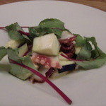 クッチーナ - 水ナスとタコのサラダ