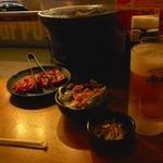 安楽亭 - ビールがおいしい!!