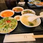 中国四川料理石林 - 中国四川料理 石林@福島 福島ランチ 横から