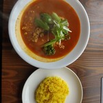 スープカレーとスパイスカレーの店 きち - 料理写真:キーマ野菜(税込み1180円)
