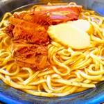 沖縄そば 真 - 料理写真: