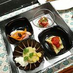 墨繪 - ひとくち前菜