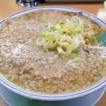安福亭 - 料理写真:叉焼麺(大油入り)