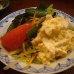 味乃にしき - サラダ