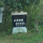 金左ヱ門 - 道端の看板