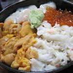 志むら - 料理写真:豪華海の幸てんこ盛り♪北海丼!