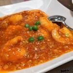 城北飯店 - むきえびのチリソース煮(週替わりランチ)