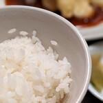 城北飯店 - 白飯(日替りランチ)