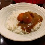 タマリンド - タマリンドカレー焼きトマトトッピング