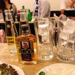 酒場 ふくろ - ウイスキー+炭酸