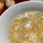 城北飯店 - 本日のスープ(日替りランチ)