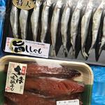 ヤマサ水産 - *さばみりん干し¥380・ししゃも¥280