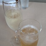 ウディ亭 - ドリンク写真:ノンアルコールのスパークリング、ジンジャーエール