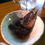 大統領 - くさや(ムロアジ)。随分食べちゃった後の写真