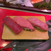 立喰 さくら寿司 - 料理写真:まぐろ3巻 600円