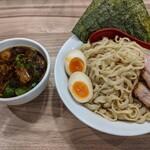 136574180 - 特製つけ麺   (醤油•大盛り)  ¥1130