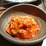 焼肉や とんちゃん亭 - 白菜キムチ