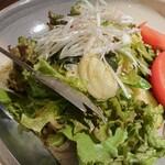 焼肉や とんちゃん亭 - チョレギサラダ