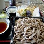 おばた - 料理写真:田舎そば+ハゼ天