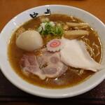 自家製麺 ラーメン創房 忠虎 - 料理写真:特製サンマ節冷麺煮玉子乗せ(990円)