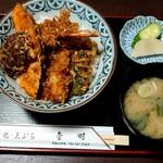 金時 - 天丼(税抜870円)