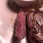 アウトバック ステーキハウス - お肉の焼き加減が好みにドンピシャ