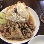 タイ屋台 チャオ チェンマイ - ガパオライス