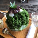 茶気茶気 - 料理写真:宇治金時。白玉もふわふわ。