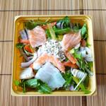 大志満 - 魚介のサラダ