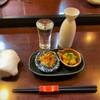 番長 - 料理写真:番長@本塩釜 阿部勘 純米吟醸とお通し