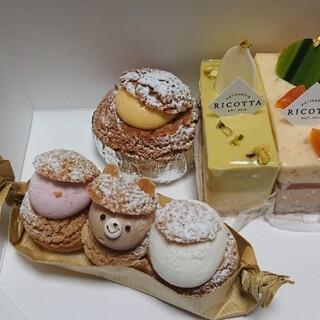 リコッタ - 料理写真:購入したケーキ♪