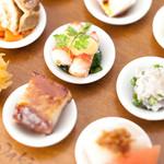 """蓮双庭 - 料理写真:""""九つの喜び""""旬の野菜色々チャイナオードブル"""