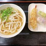 136590412 - ひやかけ並、海老天、イトヨリダイとりゅうきゅうの寿司