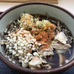 佐久平パーキングエリア(上り)フードコート - 料理写真:肉そば:550円