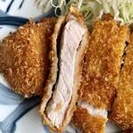 ニューいいづか - 料理写真:トンカツ(ロース)定食