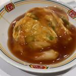 餃子の王将 - 天津飯(ジャストサイズ) ¥293