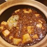 中華家 しかけん - 料理写真:土鍋マーボー炒飯