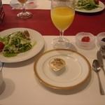 磐梯桧原湖畔ホテル - 料理写真:朝食の用意