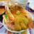 北のどんぶり屋 滝波食堂 - 料理写真:わがまま丼4品