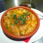 大衆イタリアン MATILDA GINZA - イタリアンもつ煮「ランプレドット」(¥990)。一般的なトリッパと異なり、優しい塩味&ハーブの香りでまとめてある