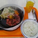 ペッパーランチ - サービスステーキ(200g・1232円)